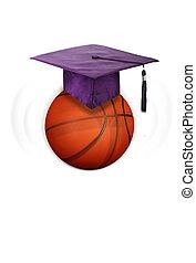 pallacanestro, e, education.