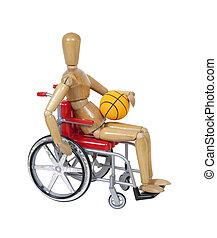 pallacanestro sedia rotelle