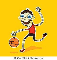 pallacanestro, uomo