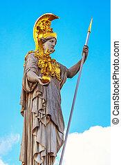 Pallas Athena statue in Vienna, Austria