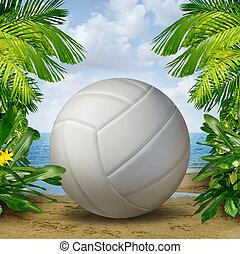 pallavolo spiaggia