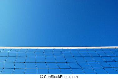 pallavolo spiaggia, rete