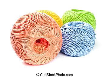 palle, collegamento, colorito