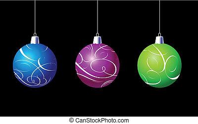 palle, ornamenti natale