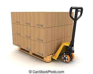 pallet camion