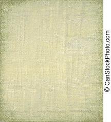 pallido, dipinto, ply, e, bambù, fondo, con, cornice