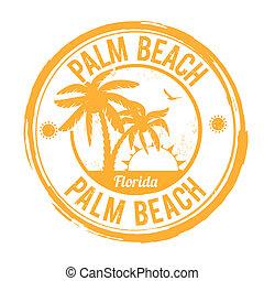 Palm Beach, Florida stamp