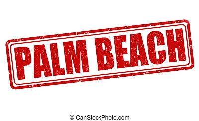 Palm Beach stamp