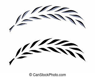 palm branch illustrations and clip art 10 660 palm branch royalty rh canstockphoto com Palm Tree Clip Art Palm Sunday Clip Art