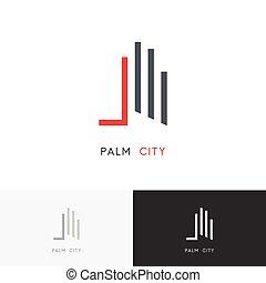 Palm city logo