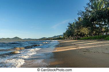 Palm cove beach in Cairns Queensland, Australia