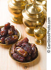 Palm dates, ramadan food also known as kurma
