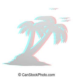 Palm effect