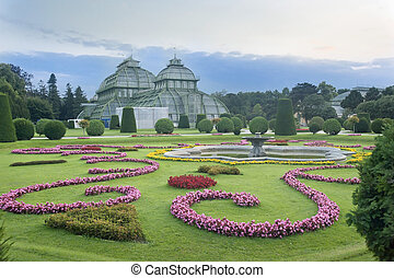 Palm house Vienna Austria