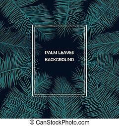 palm loof, versiering