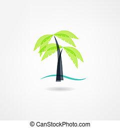palm, pictogram