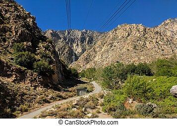 Palm Springs Tram Entrance