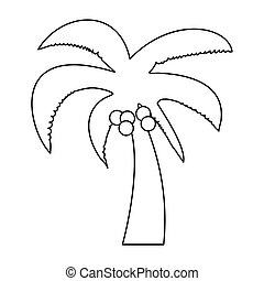 Palm the black color icon .