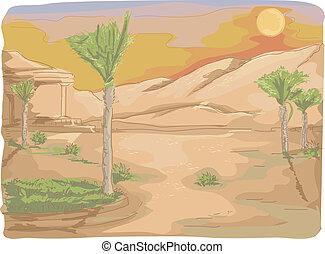 Palm Tree Desert