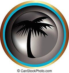Palm Tree - Palm tree icon