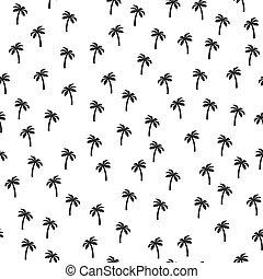 Palm tree pattern seamless texture