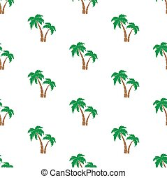 Palm trees pattern.