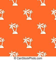 Palm trees pattern seamless