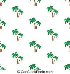 Palm trees pattern.