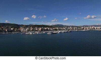 Palma de Mallorca harbor Spain - DSLR Full HD progressive...