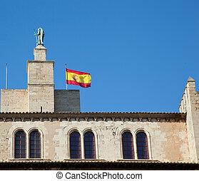 Palma de Mallorca, the royal palace of Almudaina