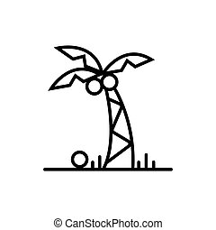palma vector icon illustration photo