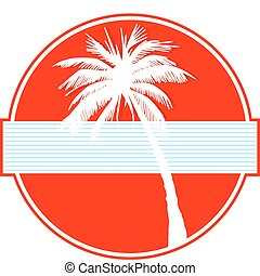 palme, rotes