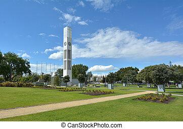 palmerston, norte, -, nueva zelandia, -, el, cuadrado