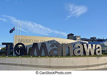 Palmerston North - New Zealand - Te Manawa museum -...
