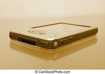Palmtop Organizer (8.2mp Image) - [b]8.2mp Image[/b] Sepia...