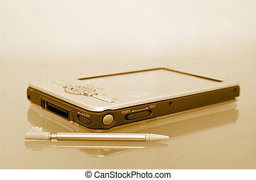 Palmtop & Stylist (8.2mp Image) - [b]8.2mp Image[/b] Sepia...