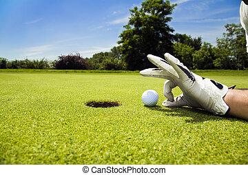 palo de golf