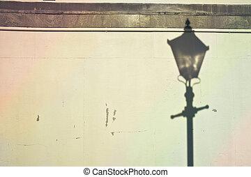 palo, lampada, uggia
