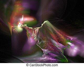Palomino - 3D rendering in very deep colors, very suitable...