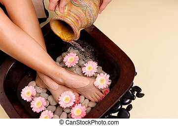 Pampered feet pedispa