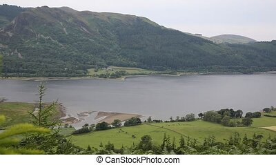 PAN Bassenthwaite Lake District uk