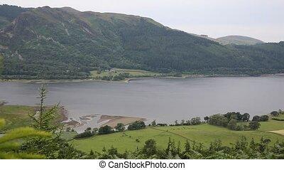 PAN Bassenthwaite Lake District uk