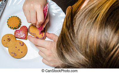 pan de jengibre, hornada, navidad