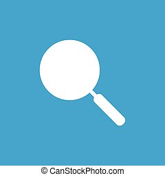 Pan icon, white