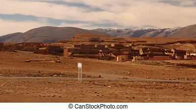 Pan On Toumliline, Ancient Village, Morocco