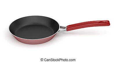 Pan - Frying pan isolated on white background