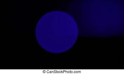 Pan Through Laser Lens Flares