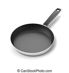 Pan with handle