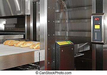 panadería, horno, bread