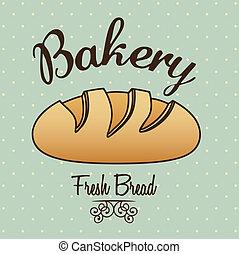 panadería, icono